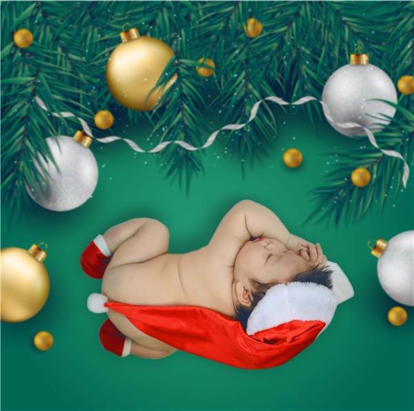 Quý tử nhà Nhật Kim Anh đón Noel với bộ hình siêu đáng yêu - Tin sao Viet - Tin tuc sao Viet - Scandal sao Viet - Tin tuc cua Sao - Tin cua Sao