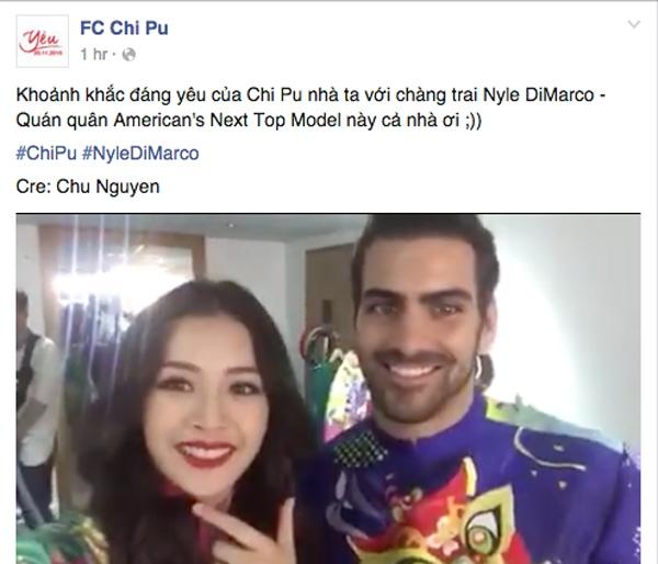 Fan dậy sóng đặt nghi vấn quán quân Next Top Mĩ có tình ý với Chi Pu - Tin sao Viet - Tin tuc sao Viet - Scandal sao Viet - Tin tuc cua Sao - Tin cua Sao