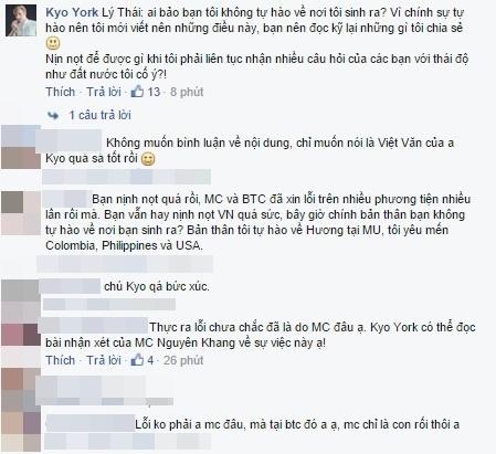 Người hâm mộ thẳng thắn đưa ra những ý kiến đóng góp trên trang cá nhân của Kyo York. - Tin sao Viet - Tin tuc sao Viet - Scandal sao Viet - Tin tuc cua Sao - Tin cua Sao