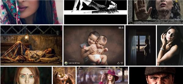 Những bức ảnh của nhiếp ảnh gia trẻ liên tục lọt top xem nhiều trên website ảnh quốc tể.