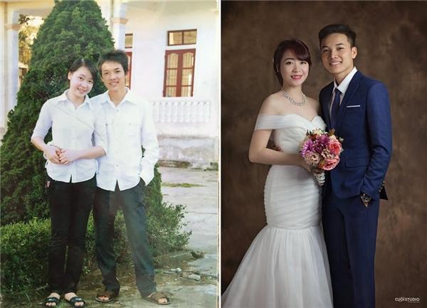 """Chàng trai 9x này cũng chính là người đã thực hiện bộ ảnh cưới gây sốt """"ngày ấy-bây giờ""""cho cặp đôi yêu nhau 9x năm."""