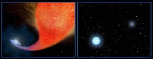 """Những ngôi sao xanh lang thang được ví là """"ma cà rồng"""" của vũ trụ. (Ảnh: Internet)"""