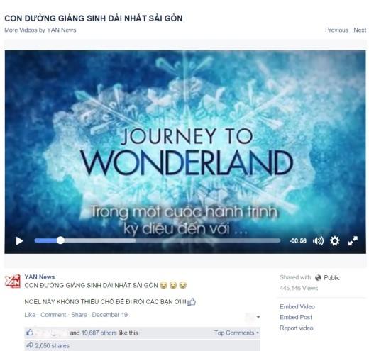 Đoạn trailer ngắn chỉ vừa mới được tung ra đã đạt đến hơn 400 nghìn lượt xem, gần 20 nghìn lượt thích, và số lần được chia sẻ đạt hơn 2 nghìn.