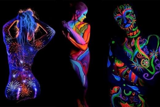 """Đặc biệt, tin tức về màn trình diễn """"body painting"""" kết hợp ánh sáng cùng Sơn Tùng M-TP, đang khiếncộng đồng Sky (fan hâm mộ của Sơn Tùng M-TP) """"đứng ngồi không yên"""" háo hức mong chờ! Bạn đã sẵn sàng cùng Vaseline chiêm ngưỡng những màn trình diễn """"body painting"""" kết hợp ánh sáng độc đáo nhất chỉ có duy nhất tại sự kiện Countdown party hoành tráng 2016 năm nay chưa?(Ảnh: Internet)."""