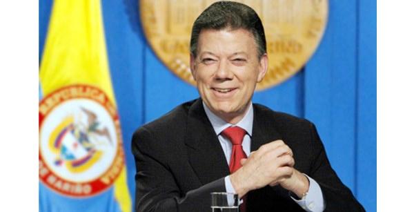 Tổng thống của Colombia - ôngJuan Manuel Santos