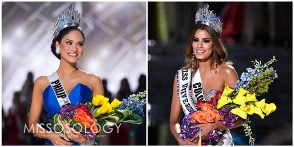 Hai người đẹp sẽ cùng giữ ngôi Hoa hậu Hoàn vũ 2015?