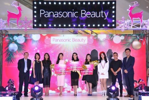 """Thí sinh Trần Ngọc Đinh Lăng là người chiến thắng """"Miss Panasonic Beauty Việt Nam 2015""""."""