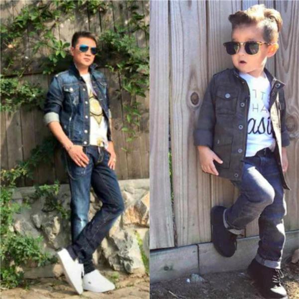 Cách phối trang phục jeans cá tính, bụi bặm.