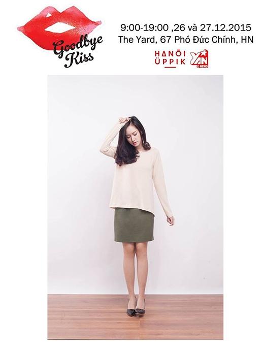 Giới trẻ Hà Thành chào đón chợ phiên Hanoi Uppik Goodbye Kiss