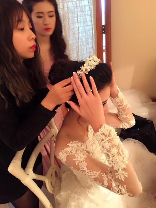 Kỳ Duyên, Ngọc Hân nhắng nhít trong đám cưới top 5 Hoa hậu Việt Nam - Tin sao Viet - Tin tuc sao Viet - Scandal sao Viet - Tin tuc cua Sao - Tin cua Sao
