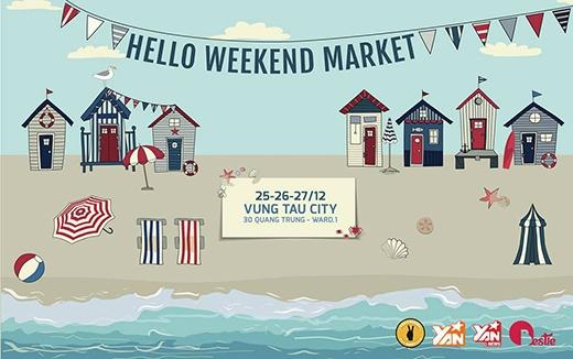 Hello Weekend Market đổ bộ đến thành phố biển Vũng Tàu