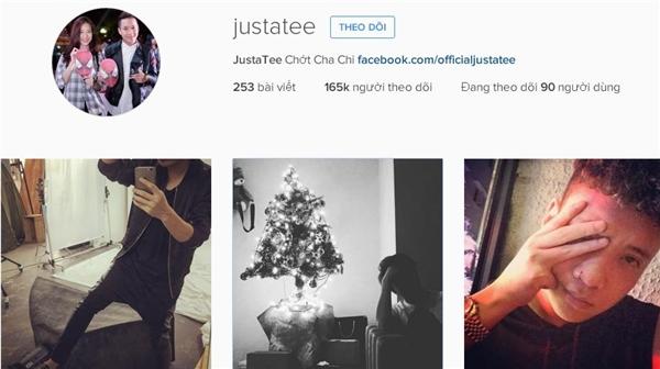 Justa Teevẫn để ảnh đại diện của mình là bức hình anh chụp chung vớiTrâm Anh.(Ảnh: Internet)