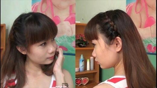 4 kiểu tết tóc đáng yêu cho bạn gái thêm xinh