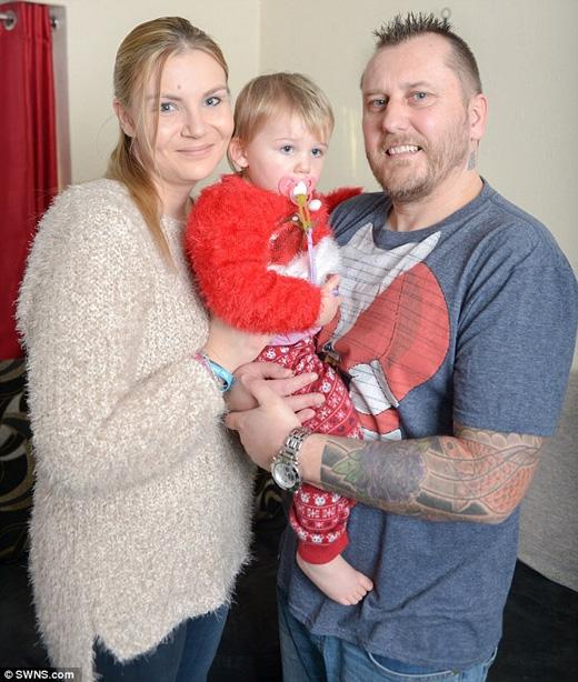 Cả gia đình đã đón mộtGiáng sinh hạnh phúc và ấm áp. (Ảnh: Daily Mail)