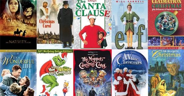 Có rất nhiều bộ phim hay dành cho Giáng sinh đấy. (Ảnh: Internet)
