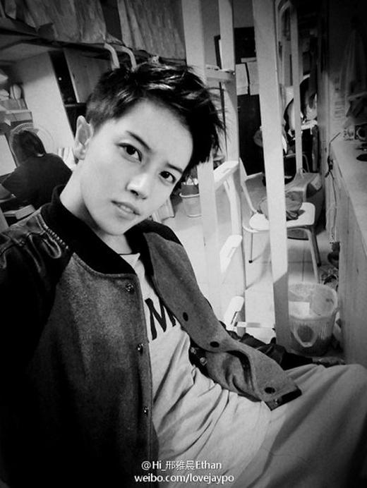 Đẹp trai và phong cách không thua gì các hot boy Hàn Quốc (Ảnh: Internet)