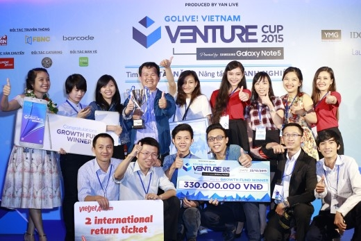 Cuộc thi khởi nghiệp Venture Cup 2015 đã tìm được Quán quân
