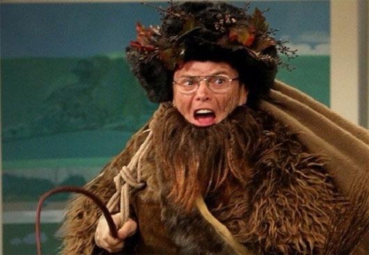 Ông Belsnickel sẽ xuất hiện vào khoảng 1, 2 tuần trước Giáng sinh. (Ảnh: Internet)