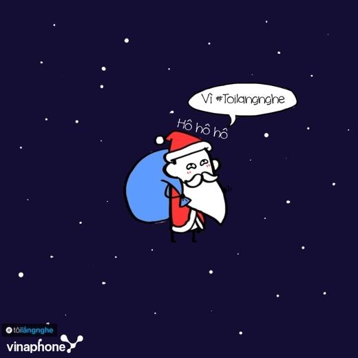 Bộ tranh siêu cool lí giải vì sao ông già Noel luôn luôn hạnh phúc