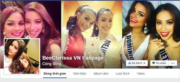 """Nhiều fanpage dành cho riêng 2 thí sinh này tại """"Hoa hậu hoàn vũ 2015"""" được lập ra. - Tin sao Viet - Tin tuc sao Viet - Scandal sao Viet - Tin tuc cua Sao - Tin cua Sao"""