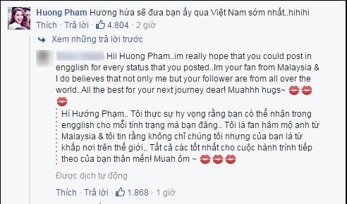 Phạm Hương khiến fan phát cuồng khi hứa đưa Clarissa về Việt Nam chơi. - Tin sao Viet - Tin tuc sao Viet - Scandal sao Viet - Tin tuc cua Sao - Tin cua Sao