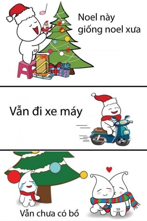 Noel như mọi năm.