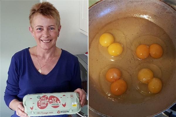 """Cặp vợ chồng người Anh đã sốc khi mua được hộp trứng """"hiếm có khó tìm""""."""