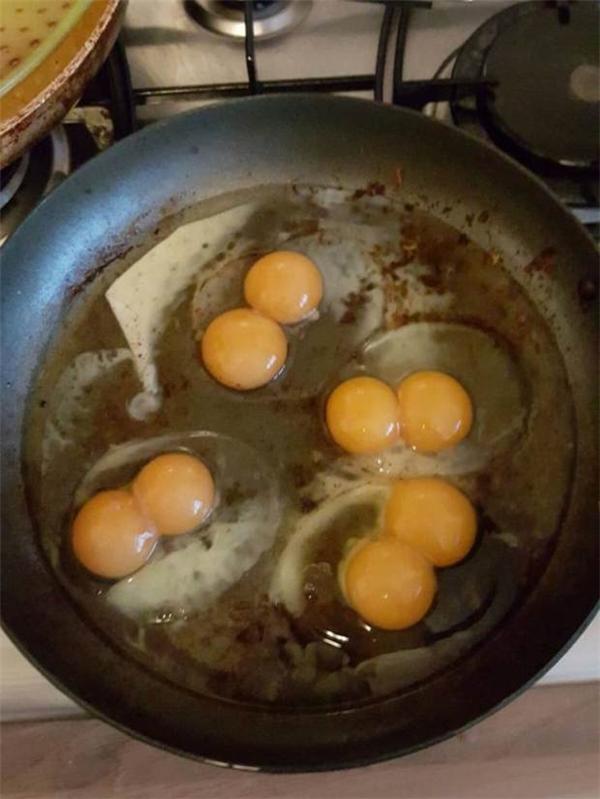 Hai vợ chồng đã lãi to khi mua được chục trứng này.
