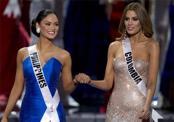 Tân Hoa hậu Hoàn vũ đã gửi lời động viên chia sẻ tới Hoa hậu Philippines.