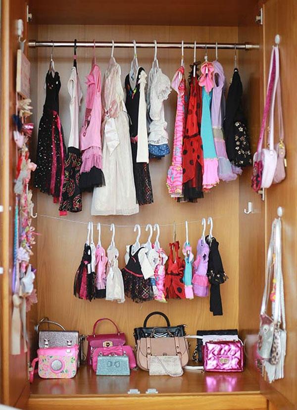 Tiểu mỹ nhân 4 tuổi với tủ quần áo trăm món tuyệt đẹp