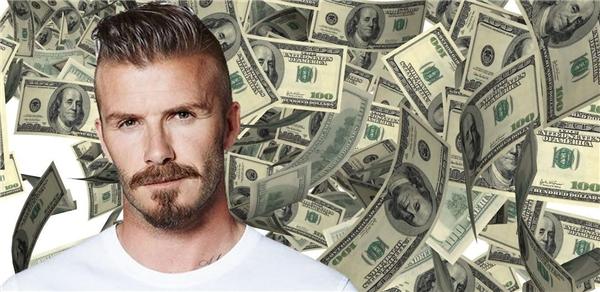 David Beckham đang nằm trên khối tài sản kếch xù.