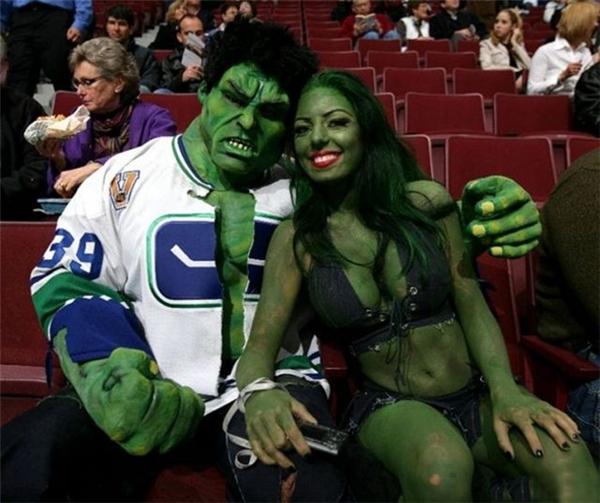 """Hóa ra Hulk cũng có """"gấu"""" đấy."""