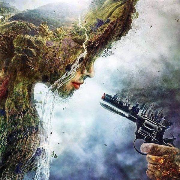 """Đô thị hóa đang """"giết dần""""môi trường vàthiên nhiên!(Ảnh: Internet)"""