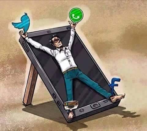 Mạng xã hội là một cái bẫy tinh vi với vẻ ngoài hấp dẫn, chỉ chực chờ bạn sa vào một ngày không xa.(Ảnh: Internet)