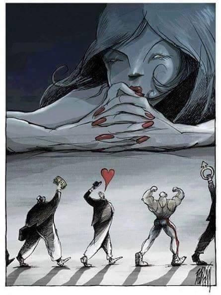 Phụ nữ thời hiện đại đứng trước nhiều cám dỗ...(Ảnh: Internet)