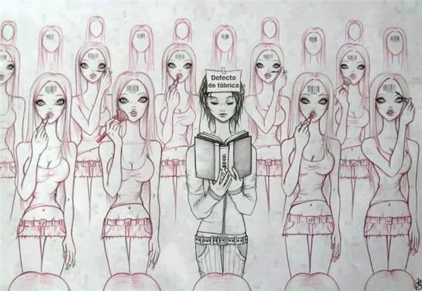 Giáo dụcvà kiến thức tạo nên sự khác biệt.(Ảnh: Internet)