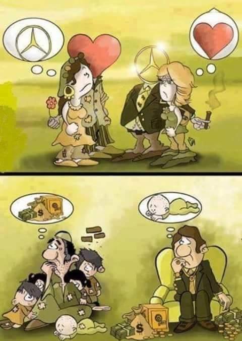 Thật ra, trong xã hội này, chưa chắc ai đã hạnh phúc hơn ai.(Ảnh: Internet)