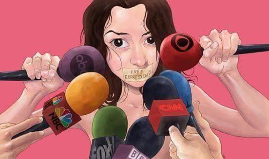 Quyền tự do ngôn luận có thật sự tồn tại?(Ảnh: Internet)