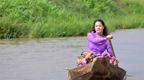 Phim Giọt lệ bên sông phát sóng vào tháng 6 trên THVL1. Ảnh: Sóng Vàng - Tin sao Viet - Tin tuc sao Viet - Scandal sao Viet - Tin tuc cua Sao - Tin cua Sao