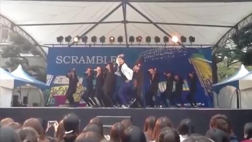 Nhóm nhảy hiphop Nhật Bản mang