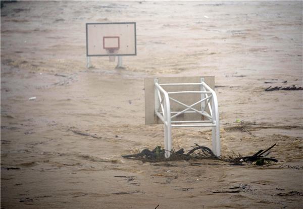 Người Đài Loan lại quan tâm đến bão lũ. (Ảnh: Internet)