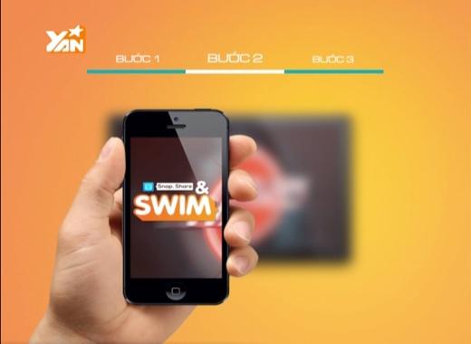 Đây là logo củaSnap, Share & Swim từ28/12/2015 đến03/01/2016