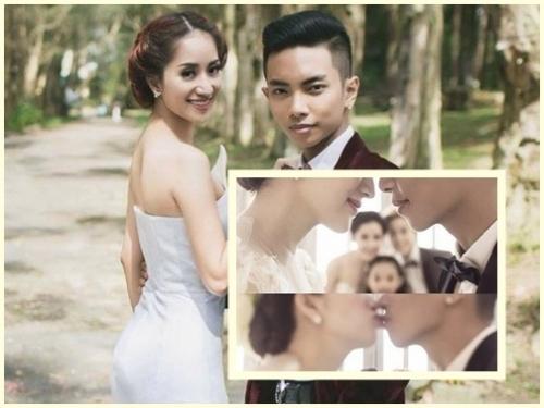 Nửa tấm hình cưới được cho là ảnh cưới của Khánh Thi và học trò Phan Hiển gây xôn xao dư luận. - Tin sao Viet - Tin tuc sao Viet - Scandal sao Viet - Tin tuc cua Sao - Tin cua Sao