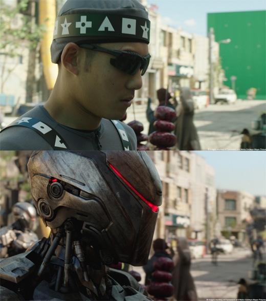 RoboCop: Một chú robot hầm hố như thế này hoàn toàn là sản phẩm của máy tính. (Ảnh: Bright Side)