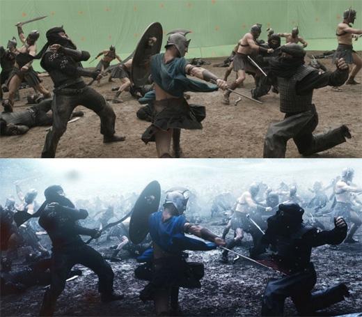 Dù là cảnh chiến đấu. (Ảnh: Bright Side)