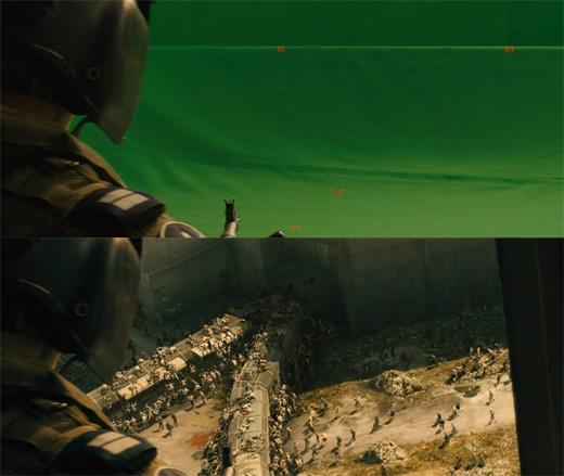 Đội quân thây ma trong World War Z đều là sản phẩm của trí tưởng tượng. (Ảnh: Bright Side)