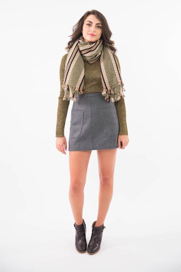 9 kiểu quàng khăn thú vị giúp thêm điểm nhấn cho trang phục mùa lạnh