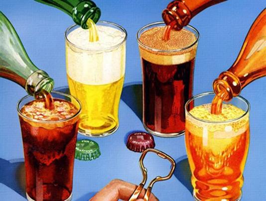 Lạm dụng thức uống có ga còn gây nên những ảnh hưởng rất xấu đến sức khỏe của chúng ta. (Ảnh Internet)