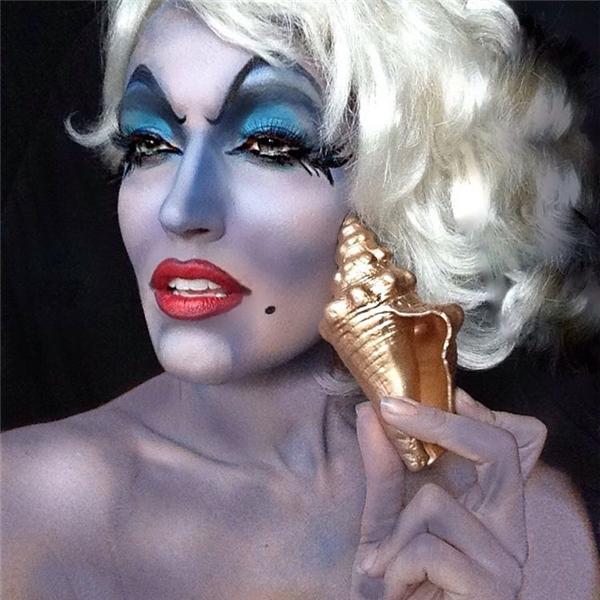 Ursula siêu xinh đẹp trong phim Nàng Tiên Cá. (Ảnh: Internet)