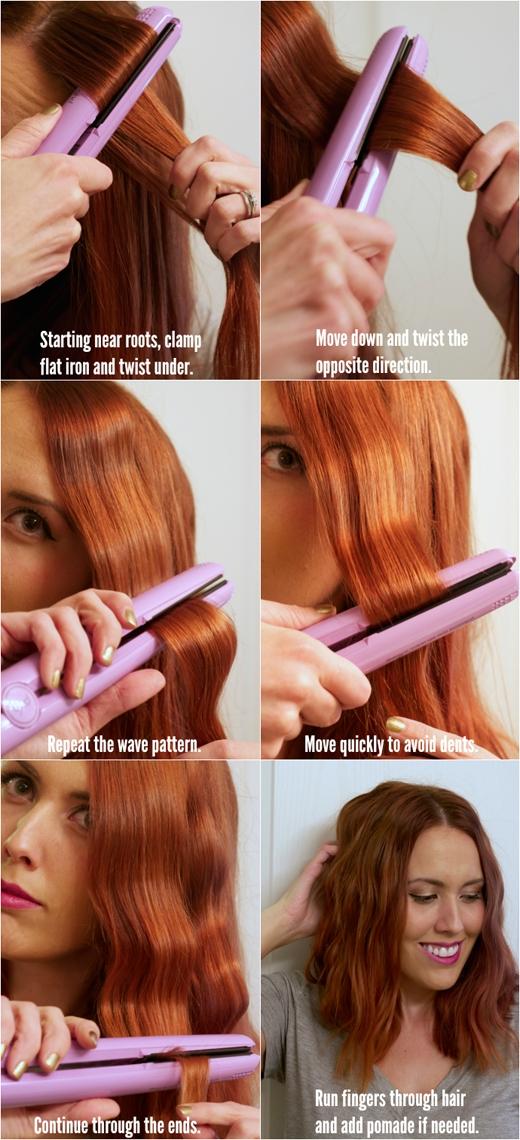 ... hoặc kiểu tóc dợn sóng. (Ảnh: buzzfeed)